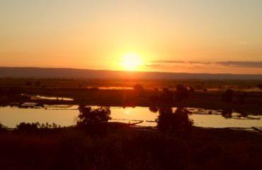 Coucher de Soleil depuis Princesse Tsiribihina