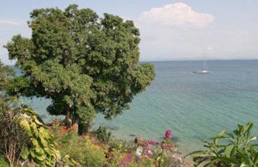 L'eau turquoise du canal de Mozambique