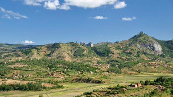 Paysages Ruraux Antsirabe