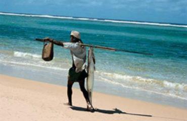 Un pêcheur traditionnel