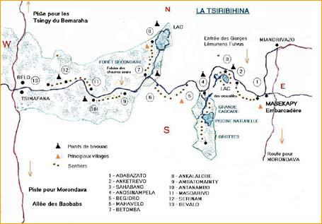Plan de la Tsiribihina