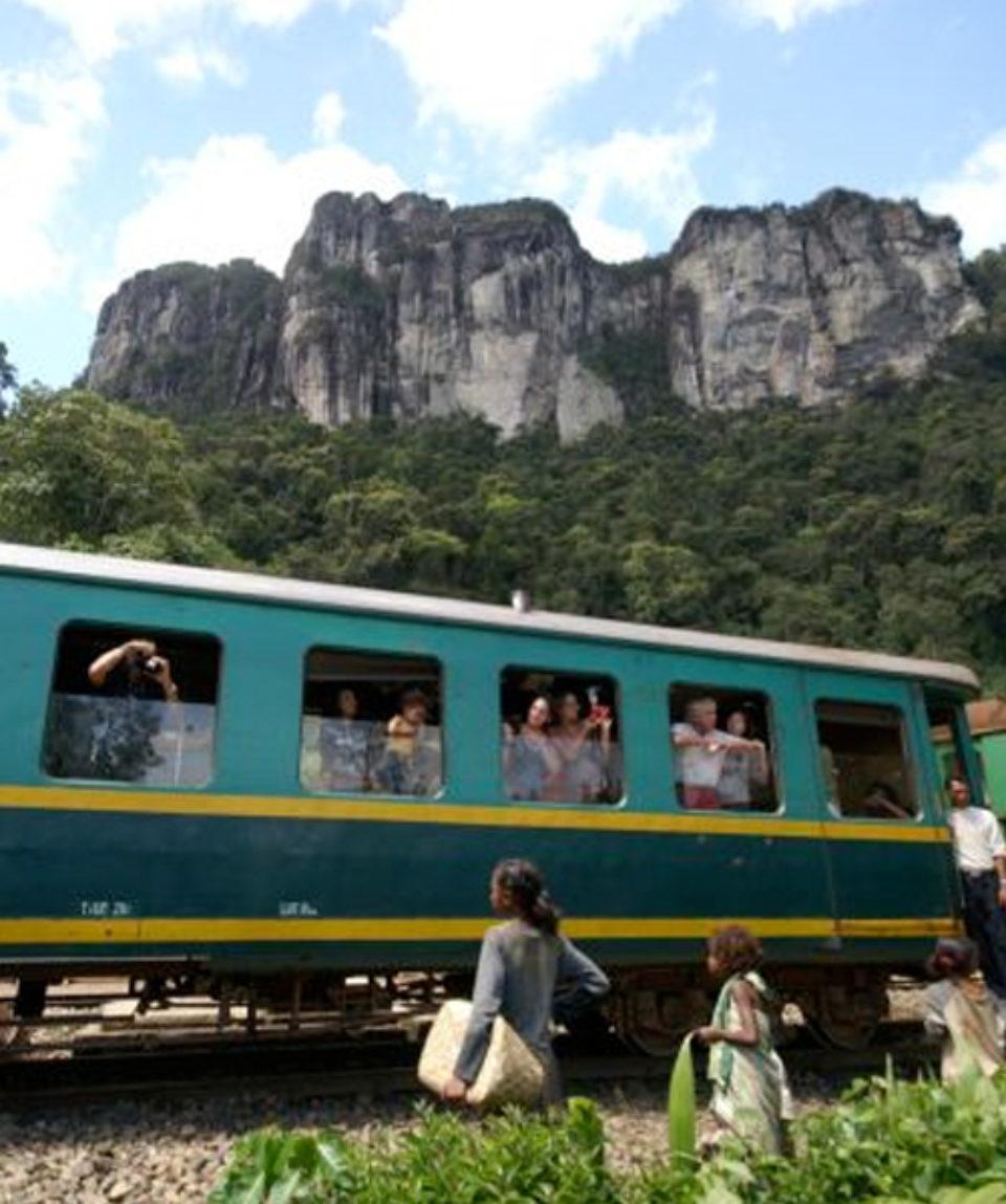 Le train Manakara Fianarantsoa
