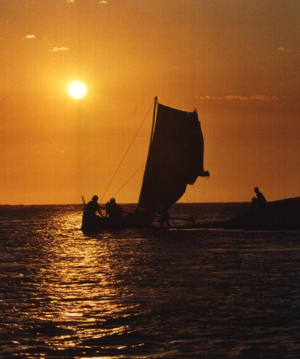 Pirogue à Belo sur Mer